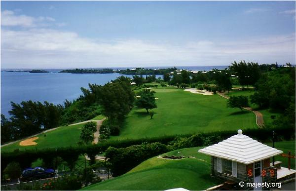Castle Harbour Golf Club Panoramic View Of Hole No